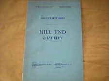 The 1964  Sale By Auction Catalogue For HILL END,Chaceley, Gloucestershire