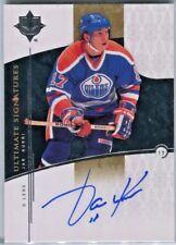Jari Kurri 2009-2010 UD Ultimate Collection Signatures Autograph-Edmonton Oilers