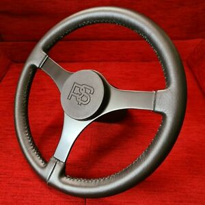 Original Ford Escort Mk2 RS2000 3-Spoke Leather Steering Wheel RS1800 Mexico