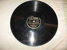 "WWII, Decca #18475. The Army's Made A Man Out Of Me,78 rpm,10"",VG+."