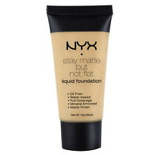NYX Stay Matte But Not Flat Liquid Foundation SMF03 - Natural 1.18floz, 35ml