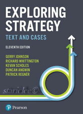 NEW 3 Days AUS Exploring Strategy Text and Cases 11E Gerry Johnson 11th Edition