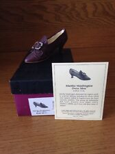 Raine Just the Right Shoe Coa Box Martha Washington Dress Shoe 25412
