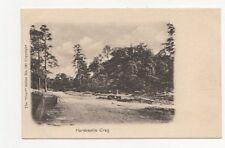Harcastle Crag Vintage Postcard 264a