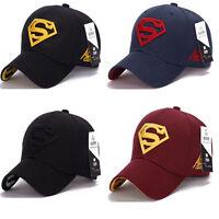 Superman Cap Baseball Trucker New Fashion Superhero DC Comics Golf Sport Hat