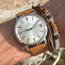 Superb vintage 1970's Omega Geneve 166.0163 cal 1012 automatic 23J date watch