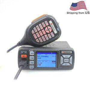 BAOJIE Dual Band Radio BJ-318 25W VHF UHF Auto Mini Car Mobile Transceiver