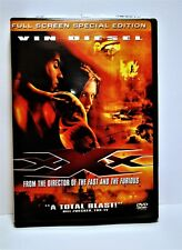 xXx (Dvd, 2002, Full Screen Special Edition, Pg13) Vin Diesel, Asia Argento