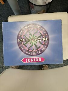 Who Wants To Be A Millionaire Junior Board Game
