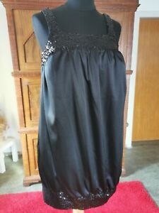 Abendkleid Standesamt Schwangerschaft gr. 34  schwarz neu aus Brautmodengeschäft
