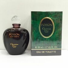 Christian Dior Poison EDT 50ml Splash (No Spray) New & Rare