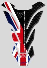 Tank Pad Tank Pad Sticker Resin 3D Compatible Motorcycle Triumph Union Jack