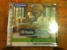 3D Home Interiors Deluxe Version 2.0 PC CD-ROM Win 95/98/Me/2000/XP