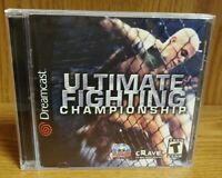 UFC Ultimate Fighting  ~ Sega Dreamcast Good Working Condition Tested Complete