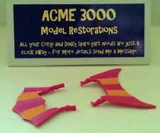 Corgi 266 Chitty Chitty Bang Bang Replacement Reproduction Pair of Plastic Fins