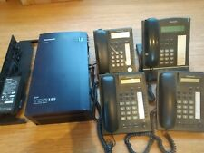 Centrale Panasonic KX-TDA15NE ISDN Lines with 4 Phones KX-T7668 and KX-T7630