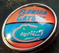 University of Florida, (Gators) 403 style G 20 mm snap Button, USA Seller
