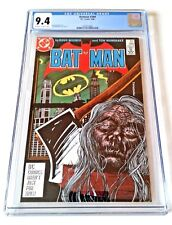 BATMAN #399  CGC 9.4 COPPER AGE 9/86 (#1245513006) OFF WHITE to WHITE PAGES !