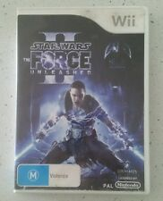 Star Wars: The Force Unleashed 2 II Nintendo Wii  Complete - Fast Free Post!