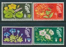 1964 GB (PHOS) BOTANICAL CONGRESS SET OF 4 FINE MINT MNH SG655p-SG658p