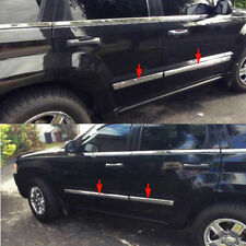 fit JEEP Grand Cherokee 2005-2009 Chrome Body Side Door Molding Cover Trim-OEM