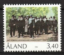 Finland / Aland - 1992 70 years political meetings Mi. 63 MNH