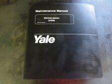 Yale ERC040-065GH Forklift Maintenance Manual                     524201427