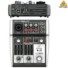 Behringer Xenyx 302USB Premium Mixer Audio Interface NEW l USA Authorized Dealer