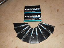 Nice set of carrillo  8 rods 708 pin 6.200 honda lentz crower pankl 1.850 nascar
