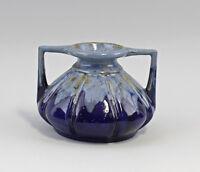 8545018 Keramik Jugendstil-Vase Amphore Laufglasur