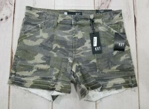 NWT KUT from the Kloth ALICE Camouflage Womens Size 6 Camo Shorts NWT