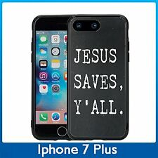 Jesus Saves Y'All For Iphone 7 Plus & Iphone 8 Plus (5.5) Case Cover
