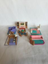 Lot of 6 Polly Pocket My Pretty Doll House Lewis Galoob Furniture Pieces