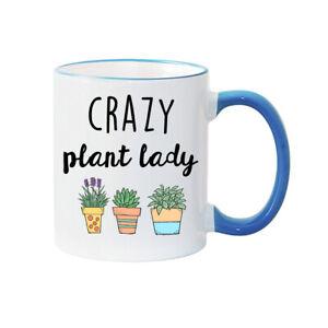 CRAZY PLANT LADY MUG  Personalised Mug Mother's Day Mug Mum gift PLANT Owner