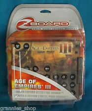 Age of Empires III - Limited Edition Keyset for ZBoard  PC Game  New