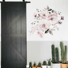 Flower Wall Stickers Self-adhesive Background Decal Art Living Room Bedroom Deco