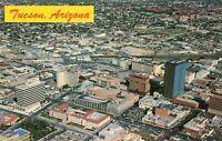 Postcard Air View Tucson Arizona