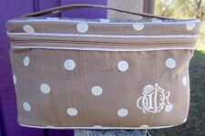 Christian Dior Large Polka Dot Cosmetic Case Bag
