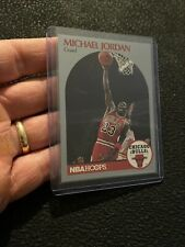 Michael Jordan 1990 NBA HOOPS Last Dance Man Cave ICONIC Chicago Bulls INVEST