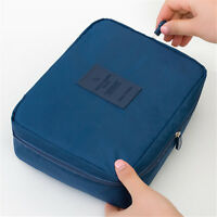 Portable Toiletry Cosmetic Bag Waterproof Makeup Wash Organizer Travel Bags Case