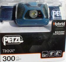 Petzl Kopflampe Tikka - in Blue - 300 Lumen, Stirnlampe, Headlight, Kopfleuchte