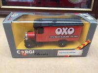 CORGI CLASIC 915  1929 THORNYCROFT VAN  OXO