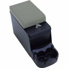 1976-1995 Jeep Wrangler & CJ Security Steel Center Console Black with Gray Pad