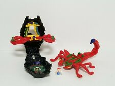 Vintage 1993 Mighty Max Stings Scorpion Scorpio Play Set 100% Complete