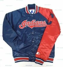 Cleveland Indians Women's S Starter End Zone Polyfill Jacket 300