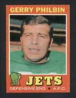 1971 Topps #98 Gerry Philbin NM/NM+ NY Jets 66318