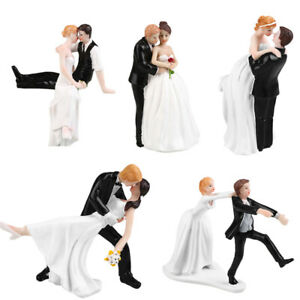 Wedding Cake Topper Bride and Groom Romantic Dance Personalised Decoration