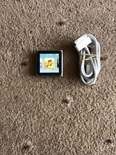 Apple iPod Nano 6th Generation Graphite 16GB + Apple USB Cable Bundle