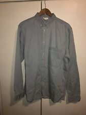 COS - Button Down Mens Oxford Shirt Sky Blue Size XL RRP £55