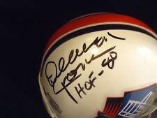 Deacon Jones Signed Mini Helmet Riddell PSA Cert #G15070